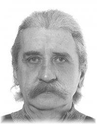 na zdjeciu widac zaginionego mieszkańca katowic, włosy siwe, pod nosem wąs siwy